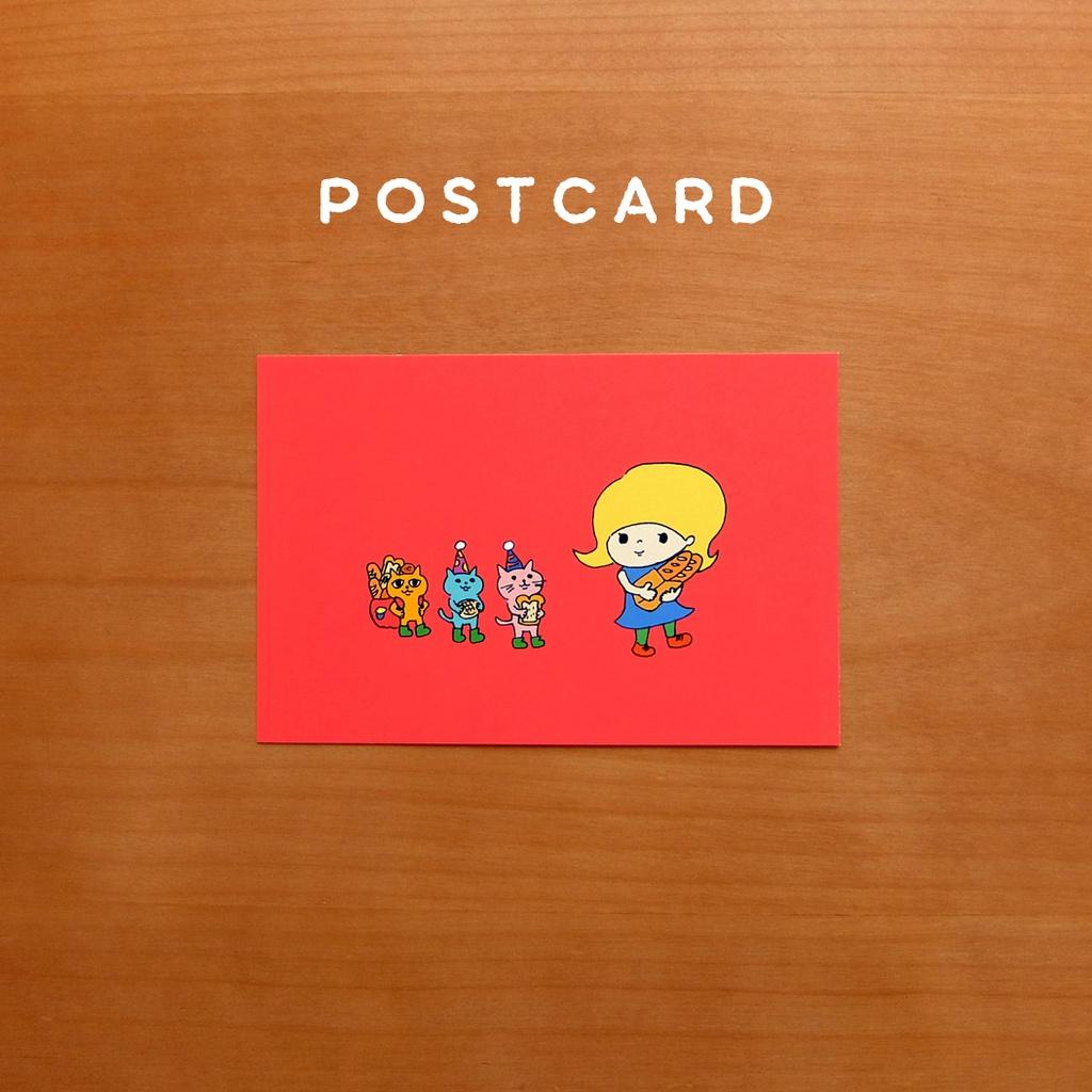【ポストカード】パンまつり