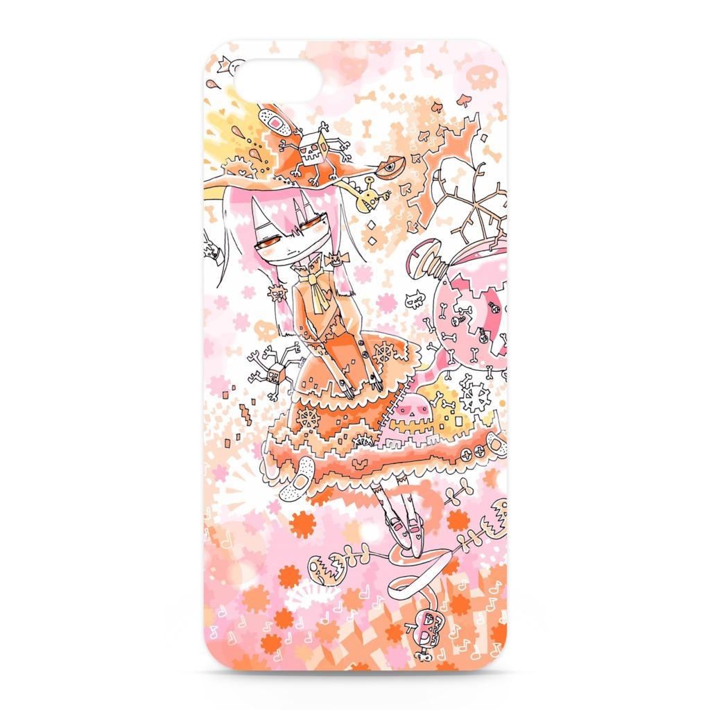 オルゴール少女のiPhoneケース