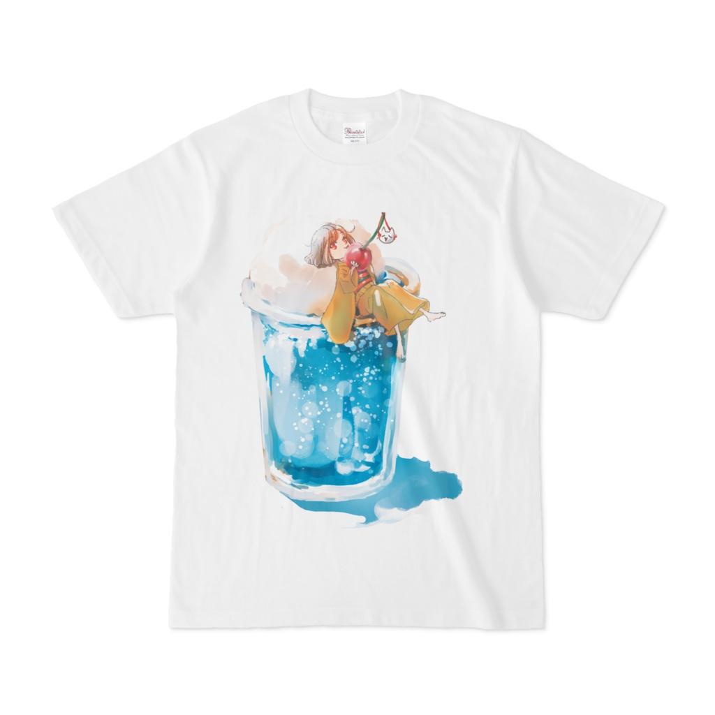 メロンソーダTシャツ