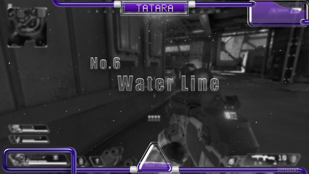 【オーバーレイ制作】ゲーム配信専用No.6【Water Line】