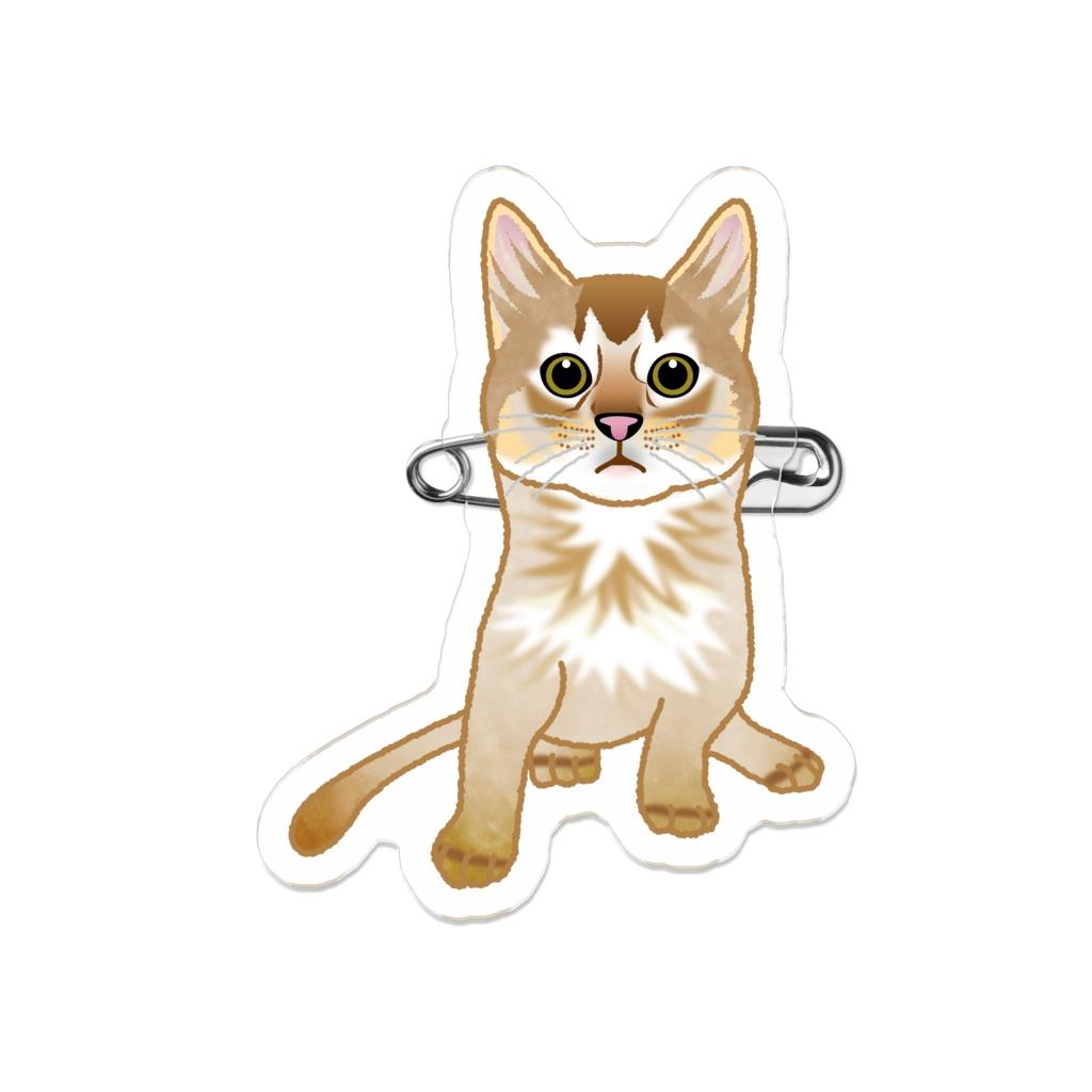 もう猫なんて嫌い!ソマリ_アクリルバッジ