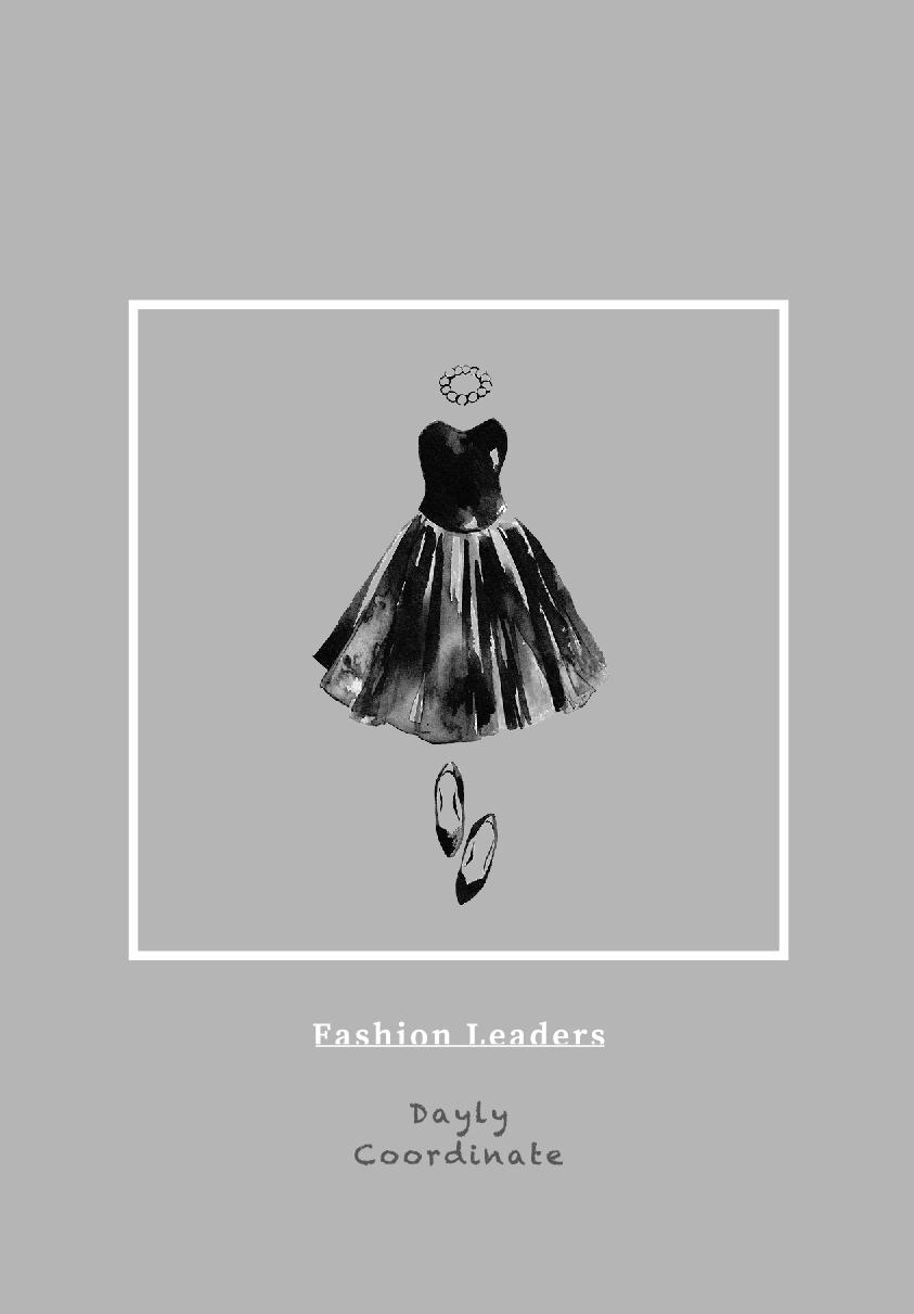 ファッションイラストのまとめ本【Fshion Leaders】 ・A6サイズ・フルカラー44ページツイッターとインスタグラムで定期更新中の ファッションイラストをまとめた