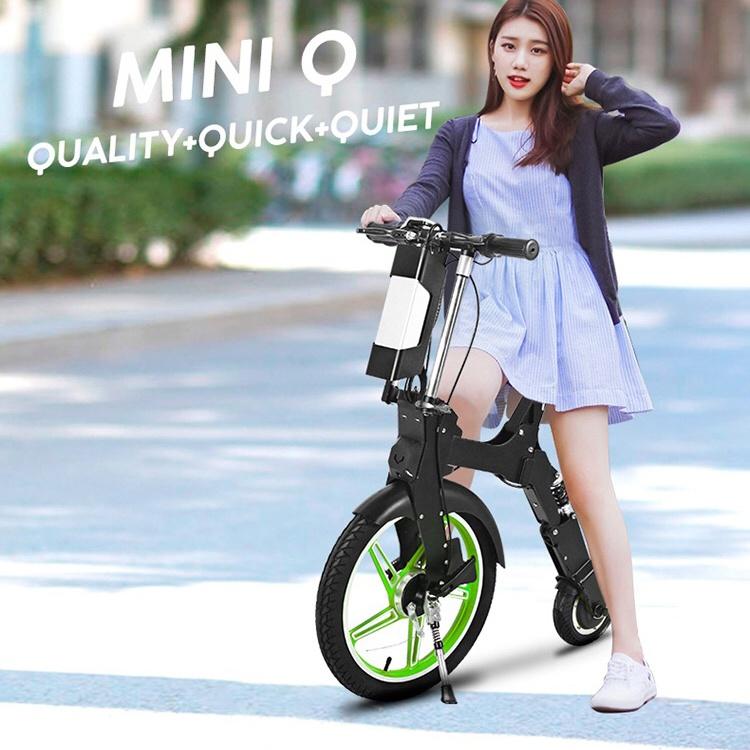 公道可 電動モバイル原付スクーター MINIQ