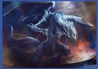 ブルーアイズ・ホワイト・ドラゴン スリーブ
