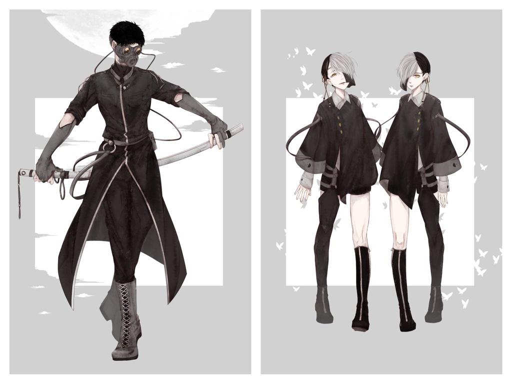 A4クリアポスター《KKD:spy》