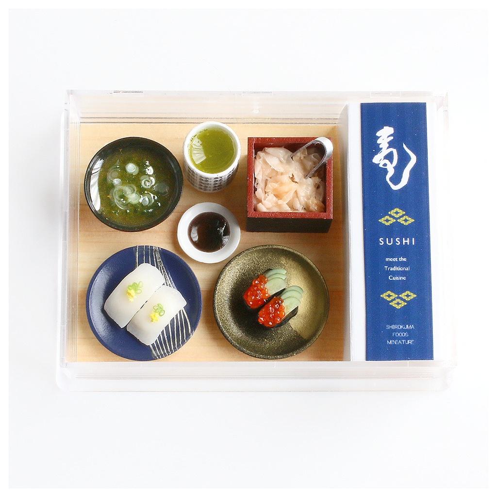 お寿司①(いか&いくら)ディスプレイセット