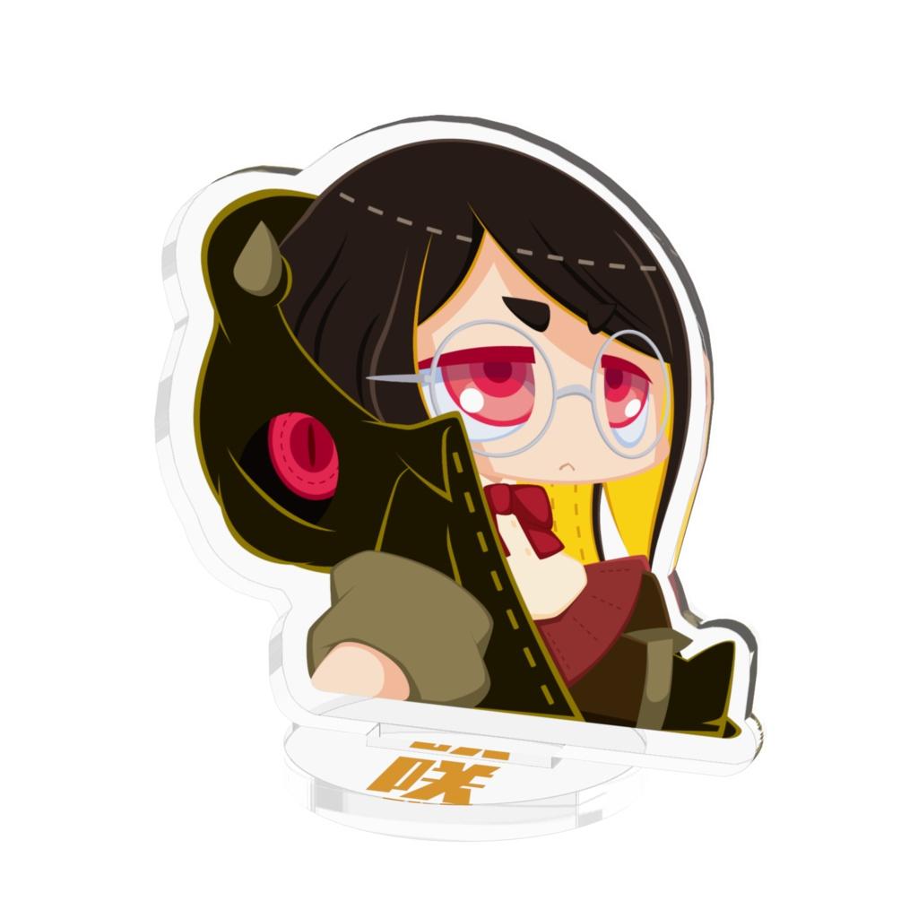 【パラサイトガール】咲(おすわり) -アクリルフィギュア- 50×50㎜