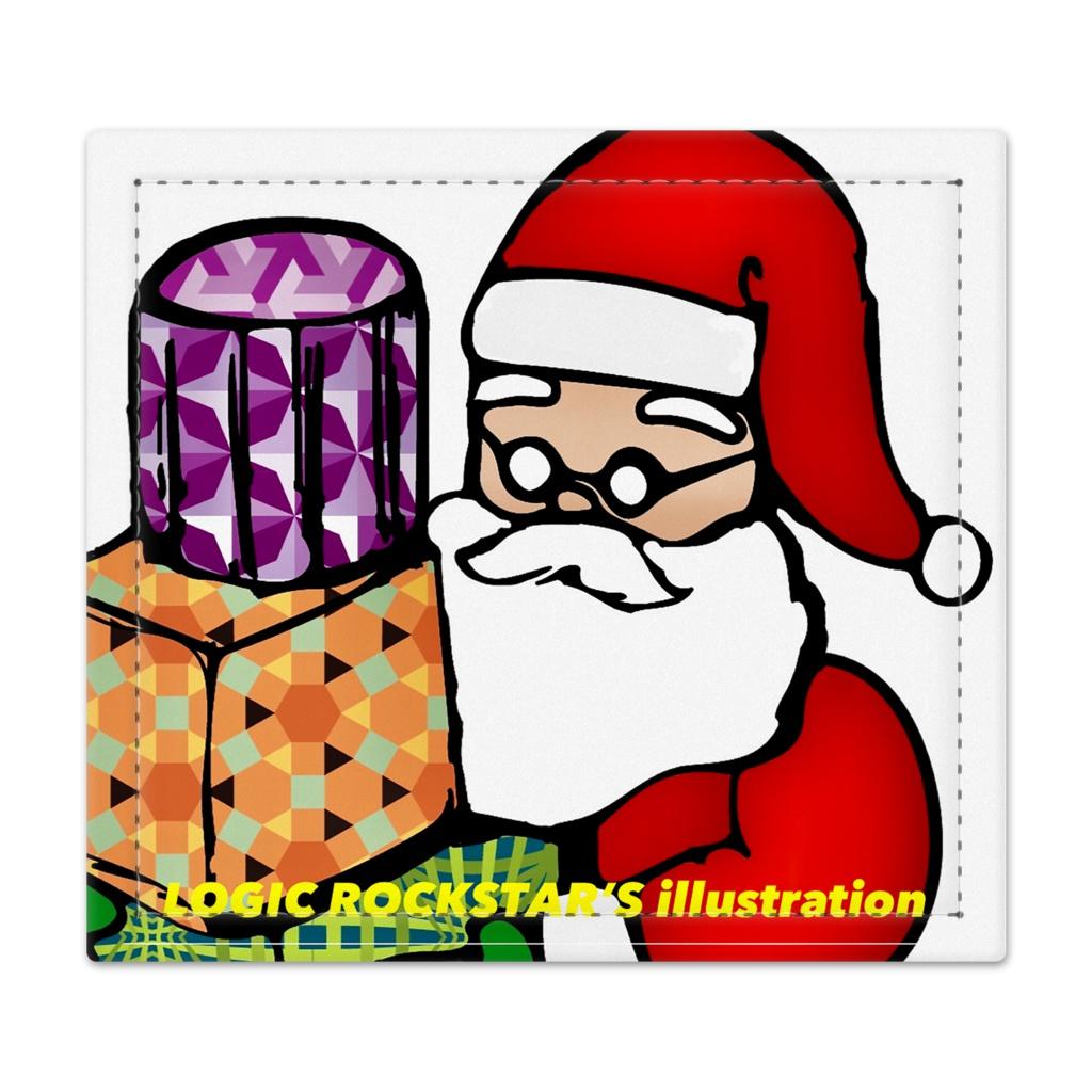 Logic RockStar illustration Santa 捺印マット - 105 x 95 (mm)
