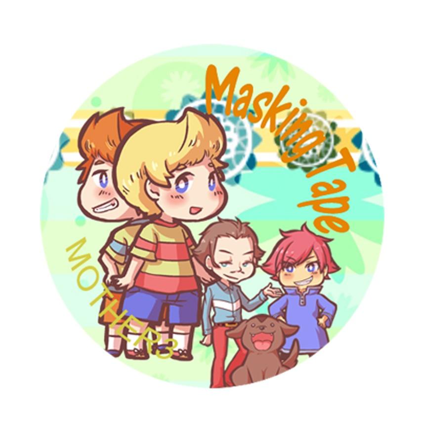 パーティメンバー大集合!マスキングテープ(MOTHER3)