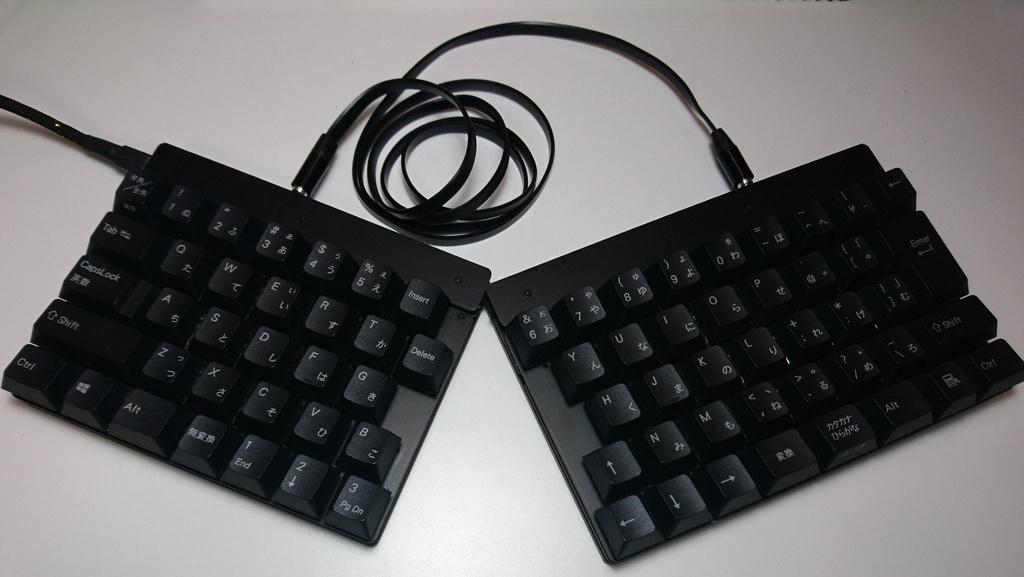 日本語分割キーボード オタクスプリット Otaku Split rev1