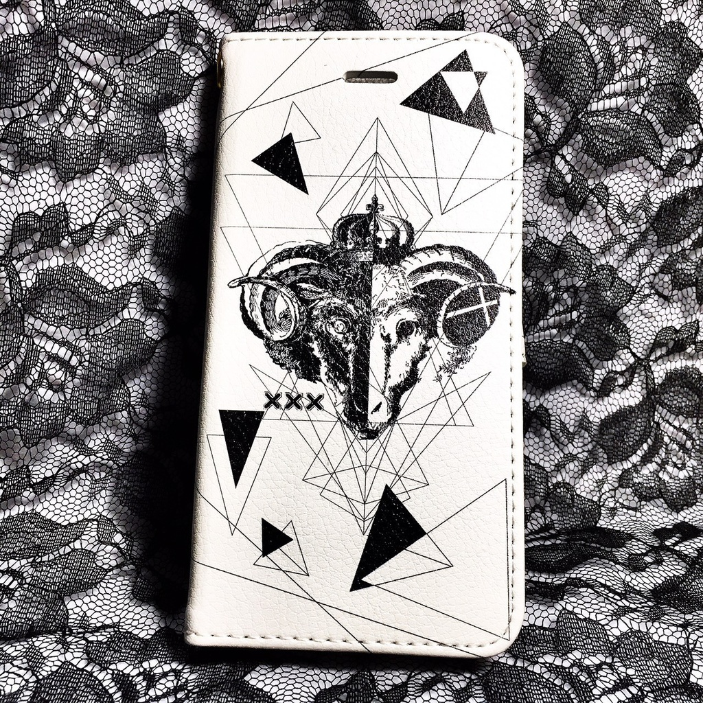 B&White 手帳型スマホケース