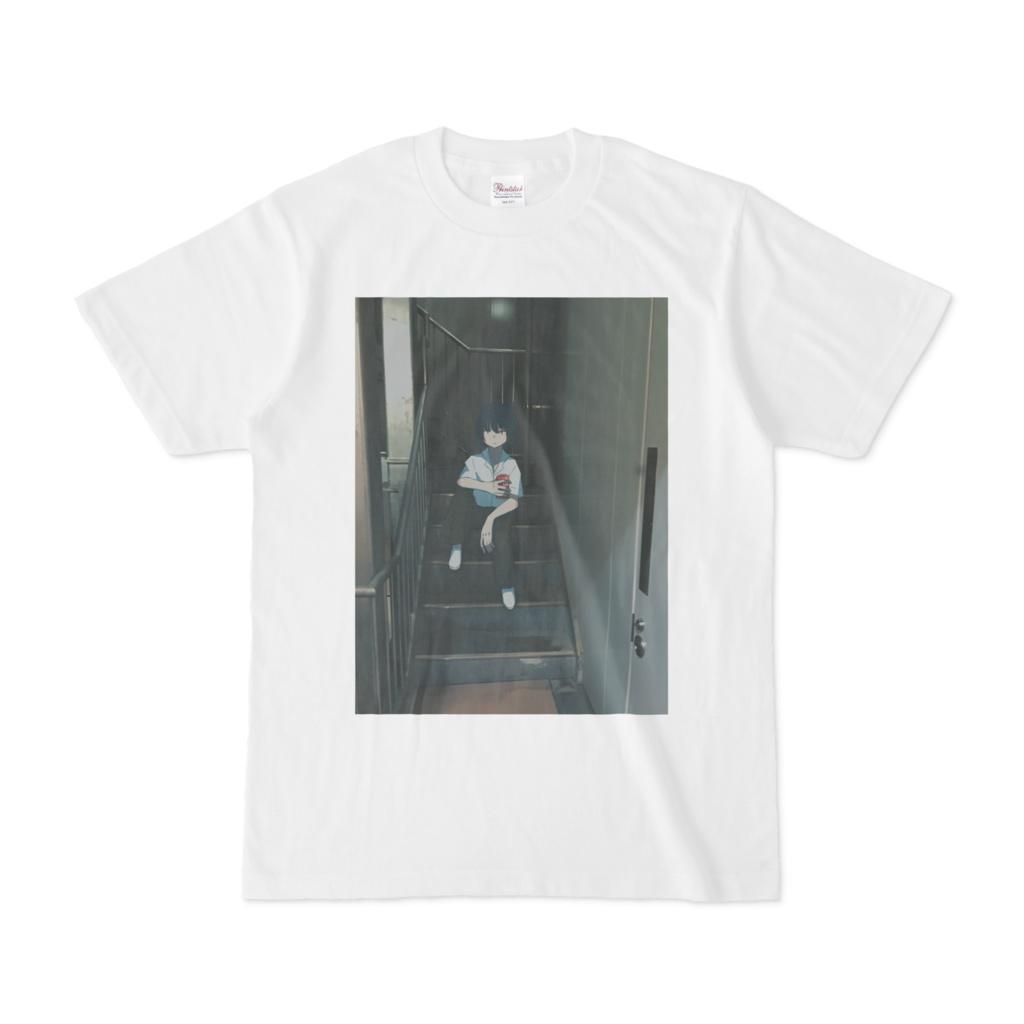 ネコと和解飲料Tシャツ
