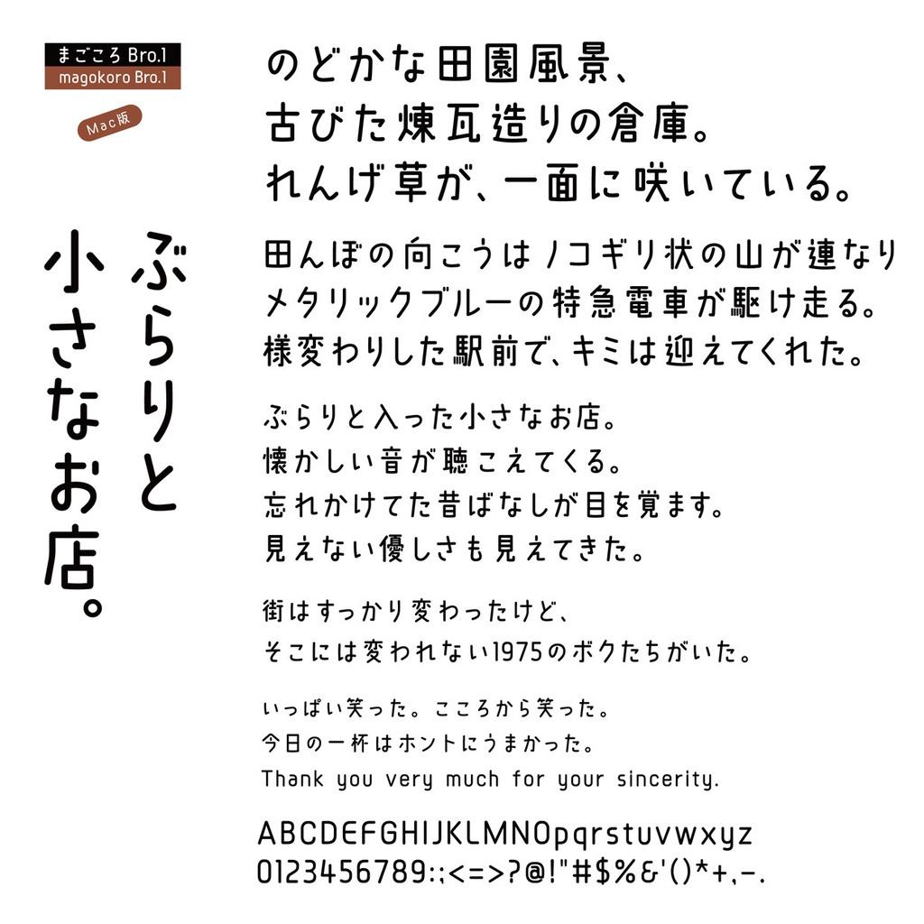 DSまごころBro.1 Mac版
