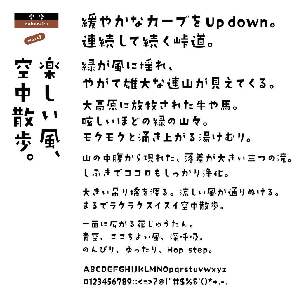 DS楽楽 Mac版