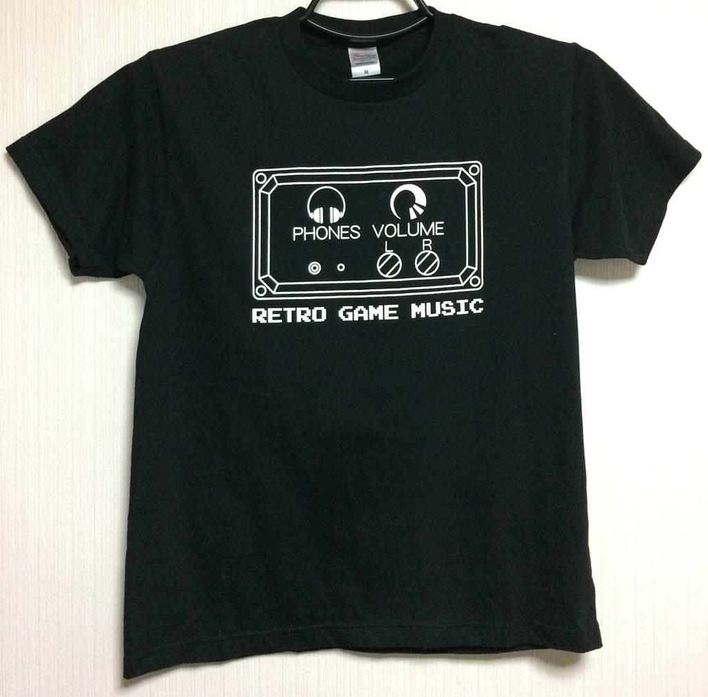 RETRO GAME MUSIC〜レトロゲームミュージック Tシャツ/送料込み