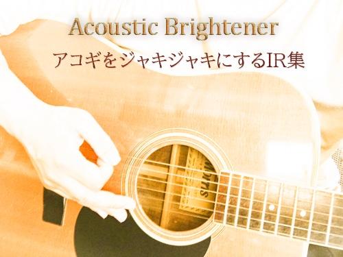 Acoustic Brighter IR アコギをジャキジャキにするIR集