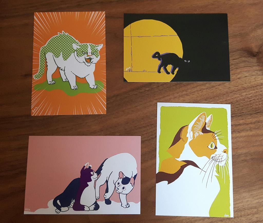 猫のポストカード7種セット【SALE】