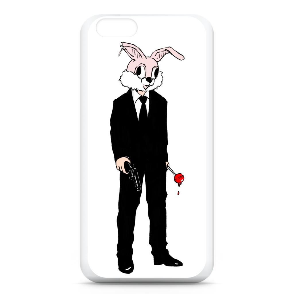 """""""killer bunny""""スマホケース旧バージョン"""