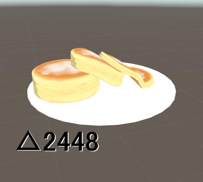 [3Dモデル] パンケーキ