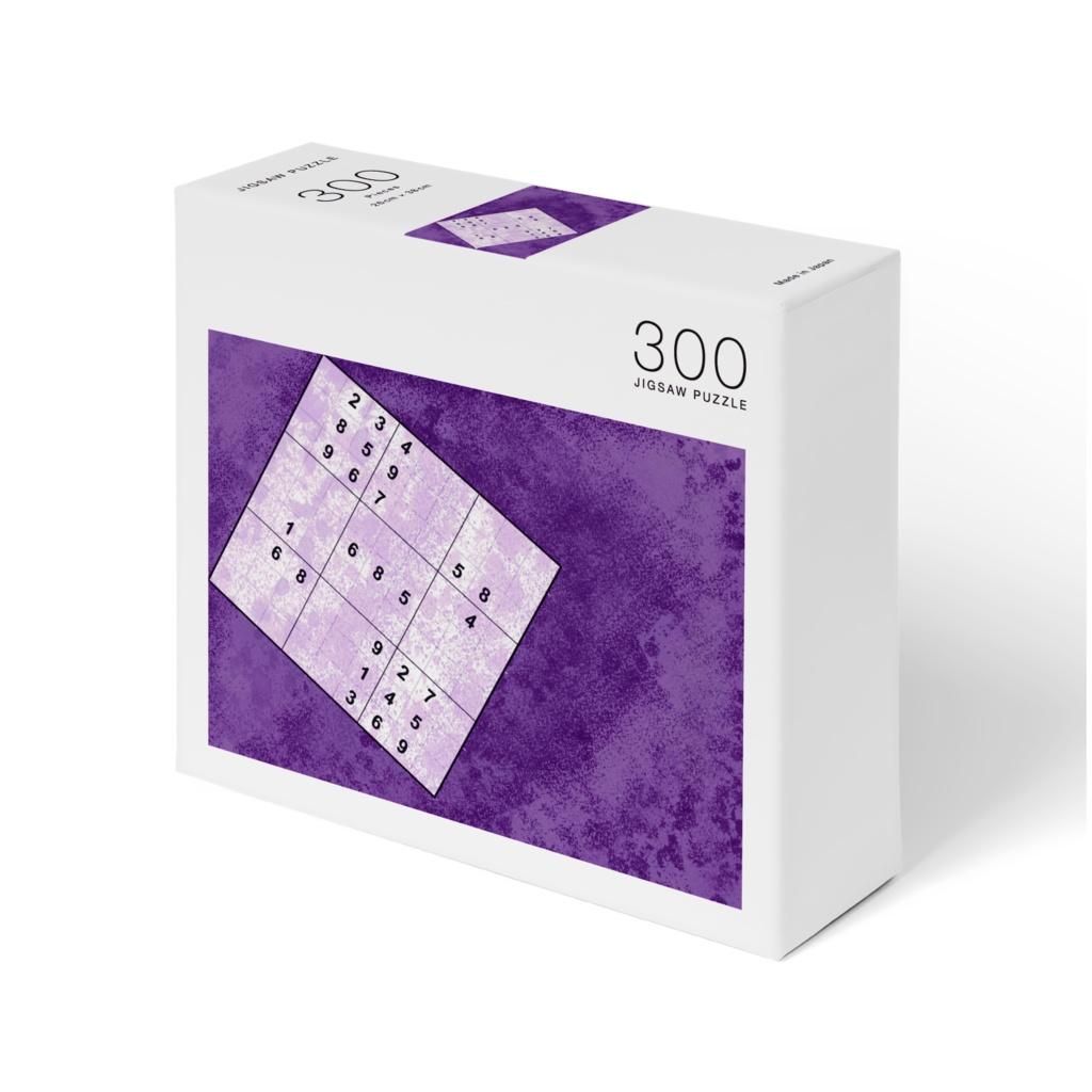 Jigsaw Puzzle Art -Strange Number Place -【パズルアート×ジグソーパズル】