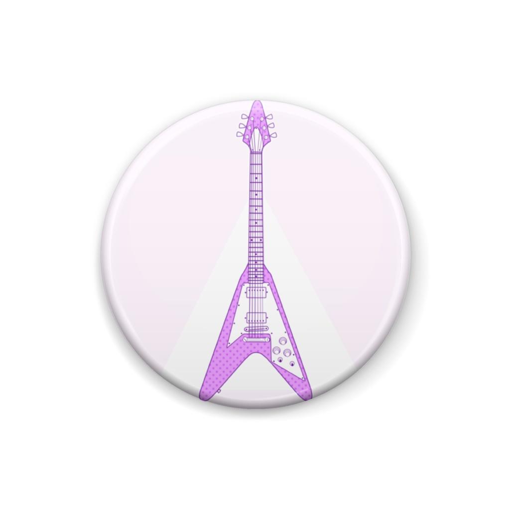 紫ギター。