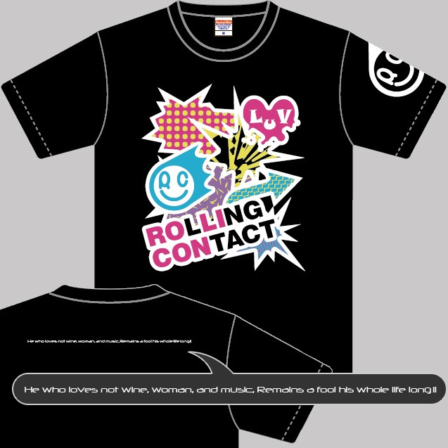 Rolling Contact Tシャツ 2012