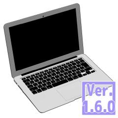 3D 薄型ノートパソコン (クリスタ1.6.0・コミスタ用) PC 可動