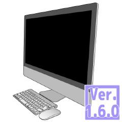 3D パソコン2 (クリスタ1.6.0~・コミスタ用) PC デスクトップ