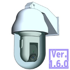 3D 防犯カメラ (クリスタ1.6.0~・コミスタ用) 監視 セキュリティ モニター