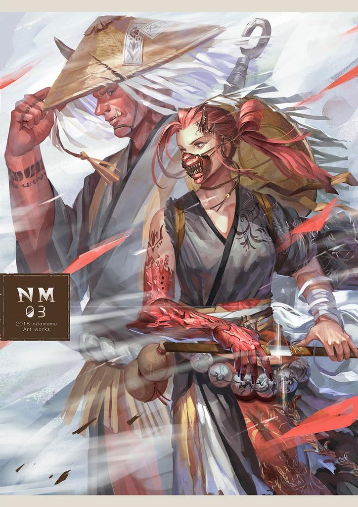 NM03  2018nitamame -Art works-
