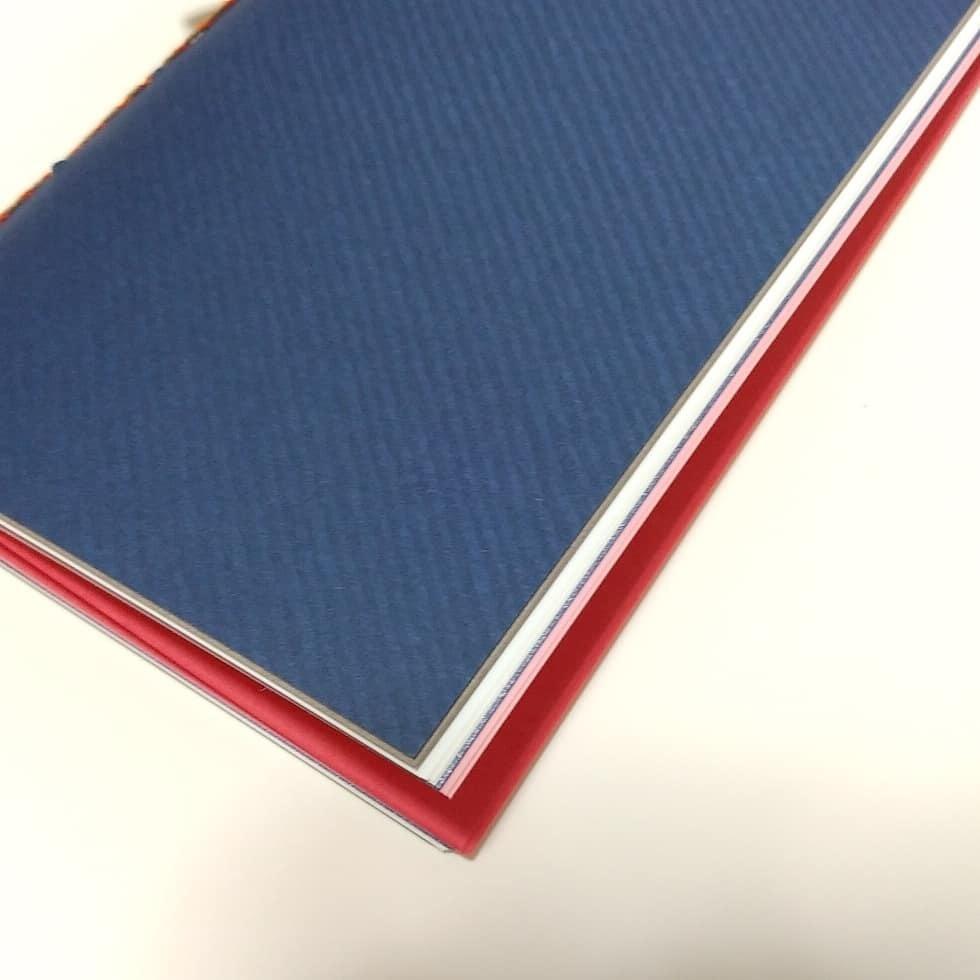 【traveler's】紙たくさん! 17シャレード群青  トラベーズノート