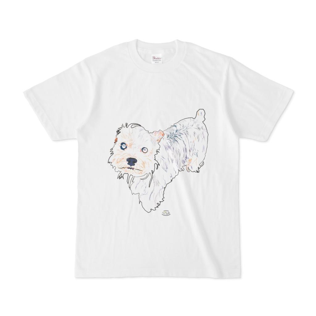 ヨークシャーテリアTシャツ