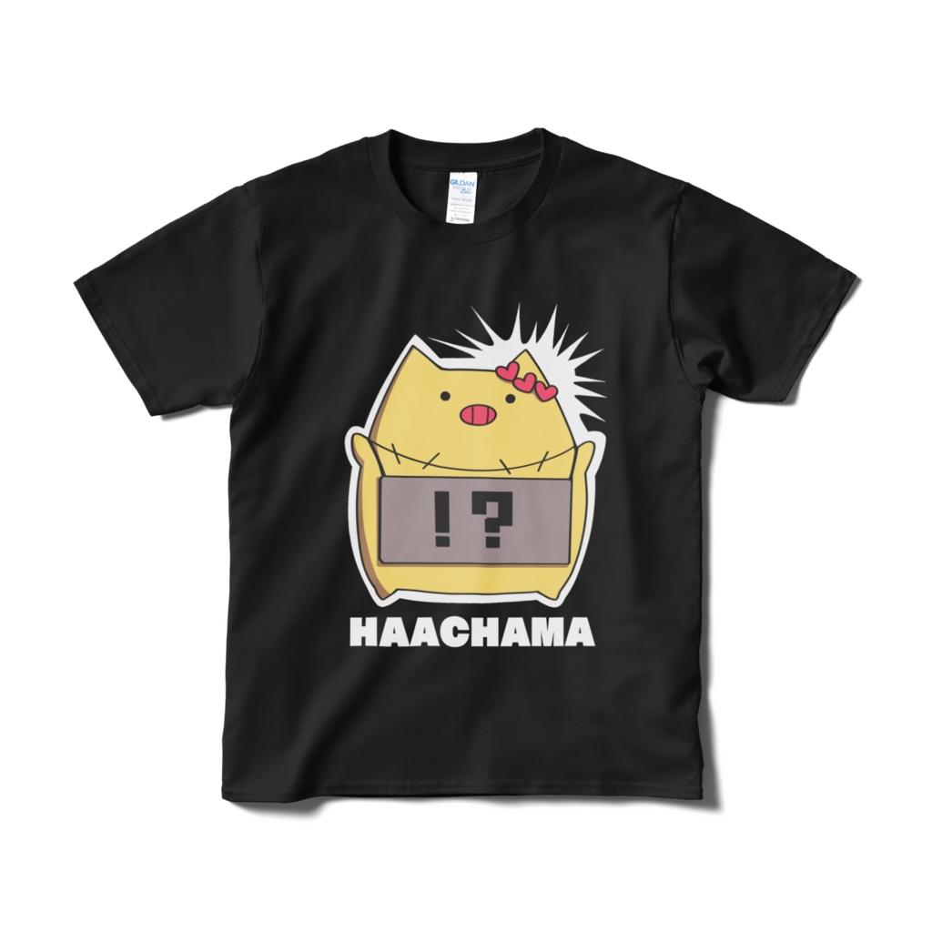 (短納期)赤井はあと HAACHAMA Tシャツ『黒』