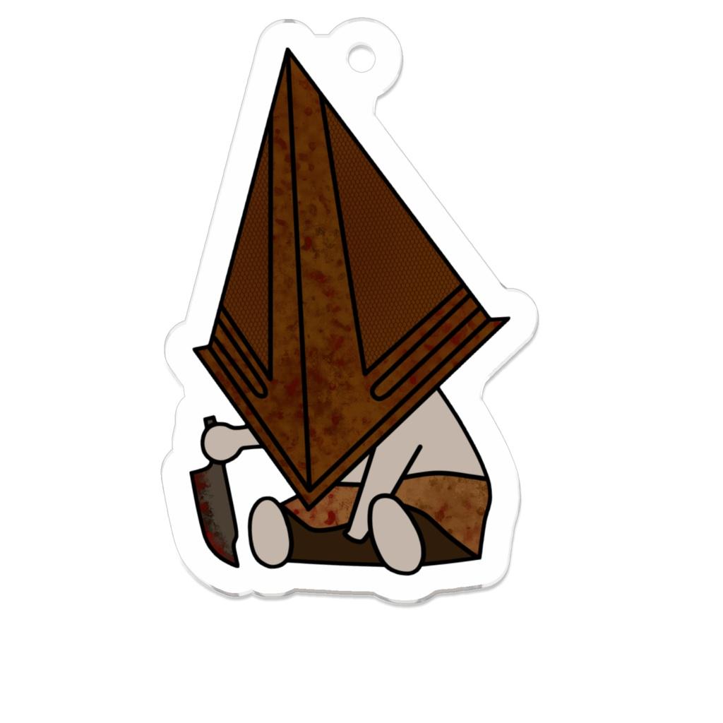サイレントヒル 三角様 アクリルキーホルダー