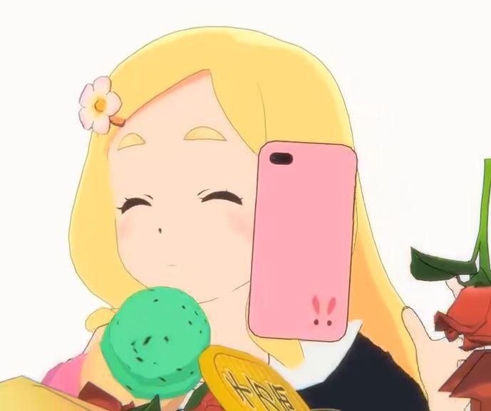 東雲めぐちゃんスマホケース iPhone6 Plus/6s Plus用【光沢仕上げ】