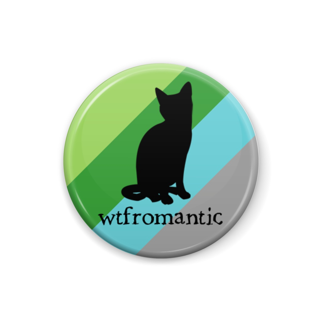 wtfromantic 缶バッジ Cat ver.