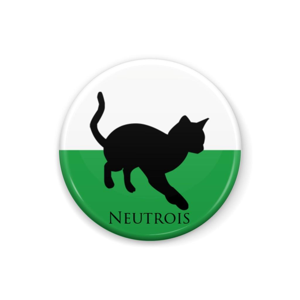 ニュートロイス 缶バッジ Cat ver.