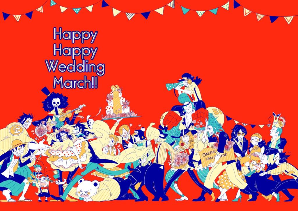Happy Happy Wedding March!!