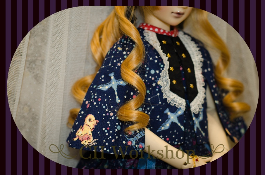 SD/DD用 「少女のティータイム」 お洋服7点セット