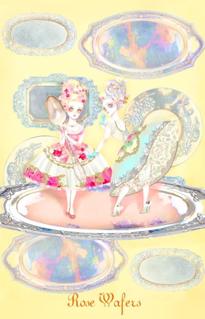 乙女紅茶 ミニクリアファイル(A5サイズ)