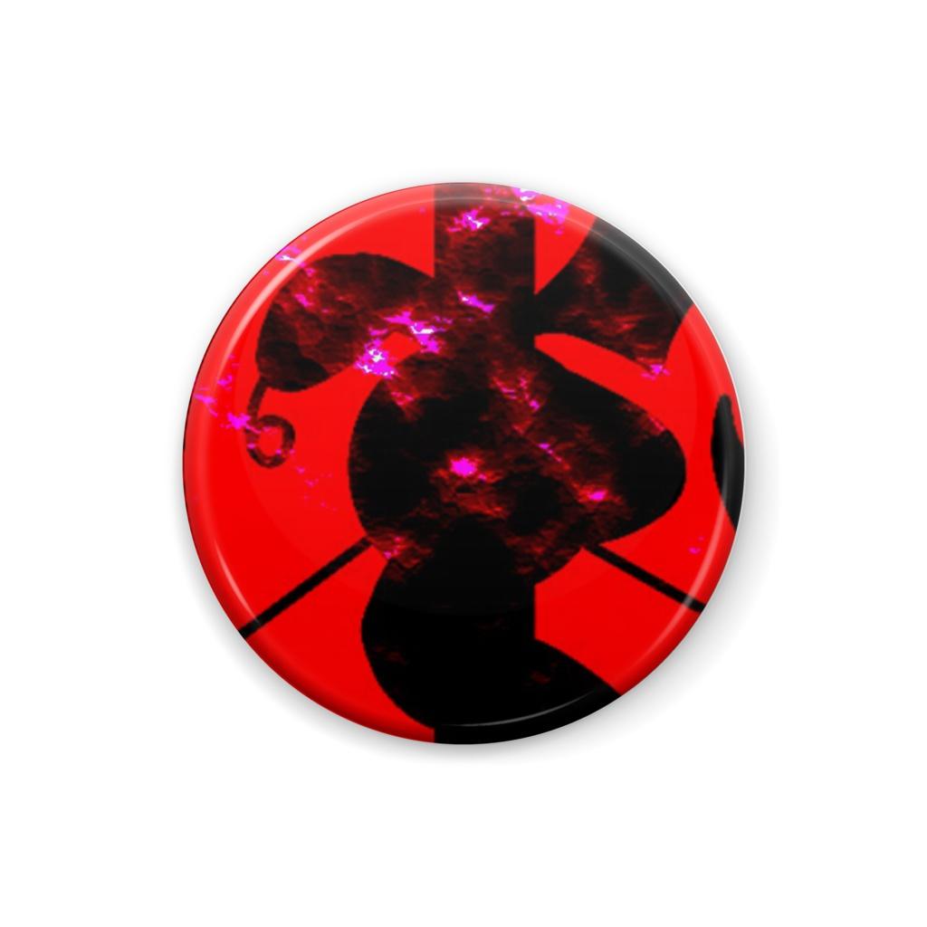 Cocytus original badge red