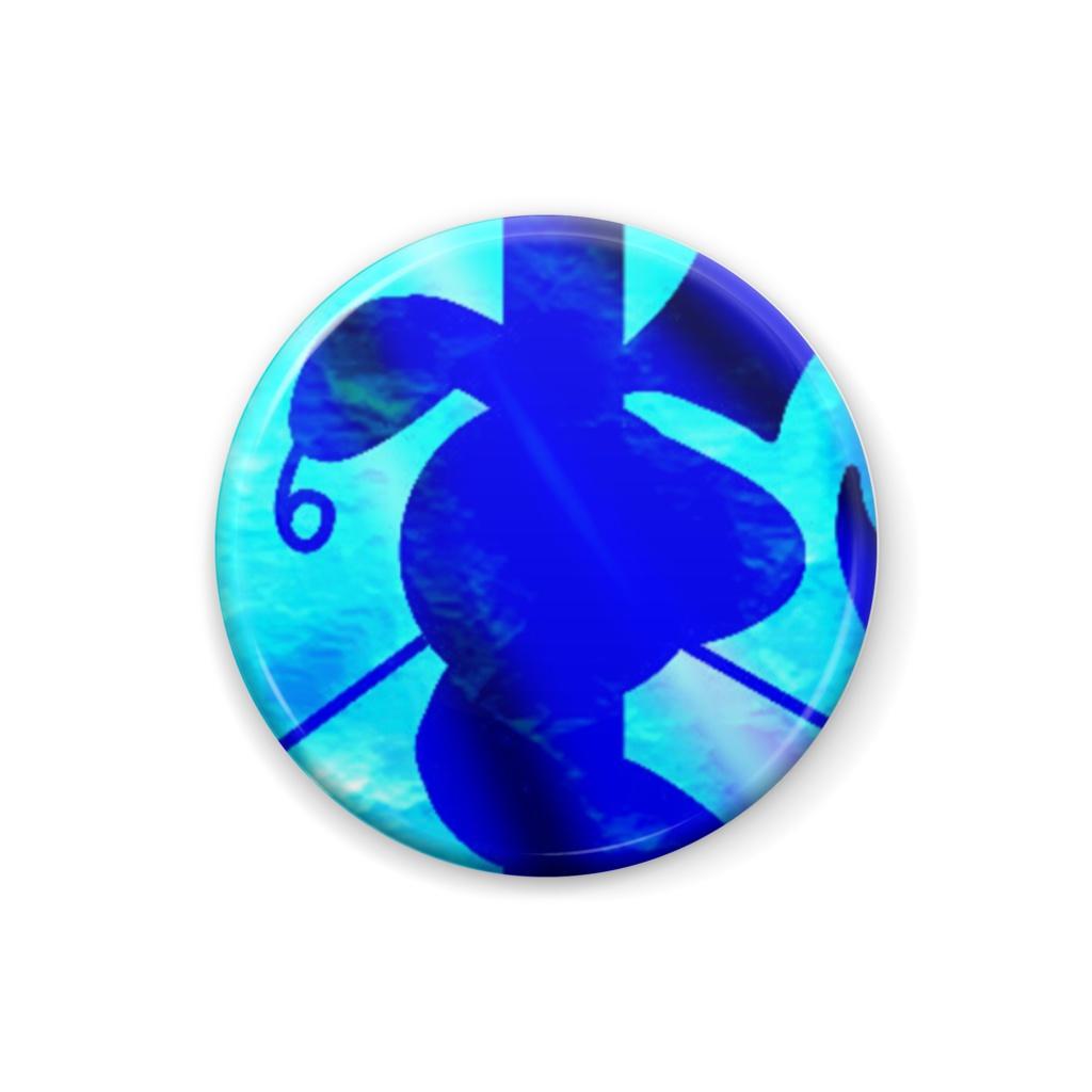 Cocytus original badge blue