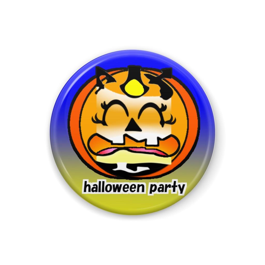ハロウィンパーティ 39 ※かぼちゃ・丸型 32㎜