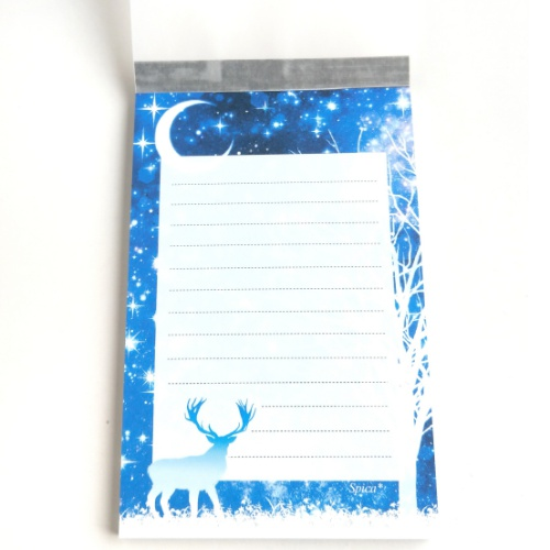 月夜の森メモ帳