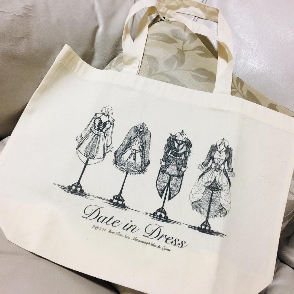 伊達組イメージドレス【トートバッグ】