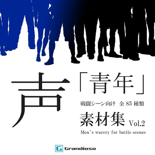 声素材集 「青年」 戦闘シーン向け vol.2 - Grandioso -
