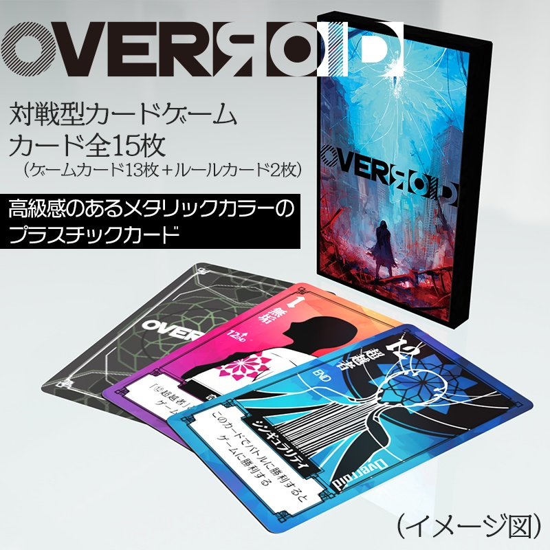 OVERЯOID (real card)