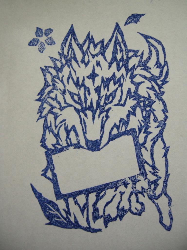 Messenger Wolf スタンプ