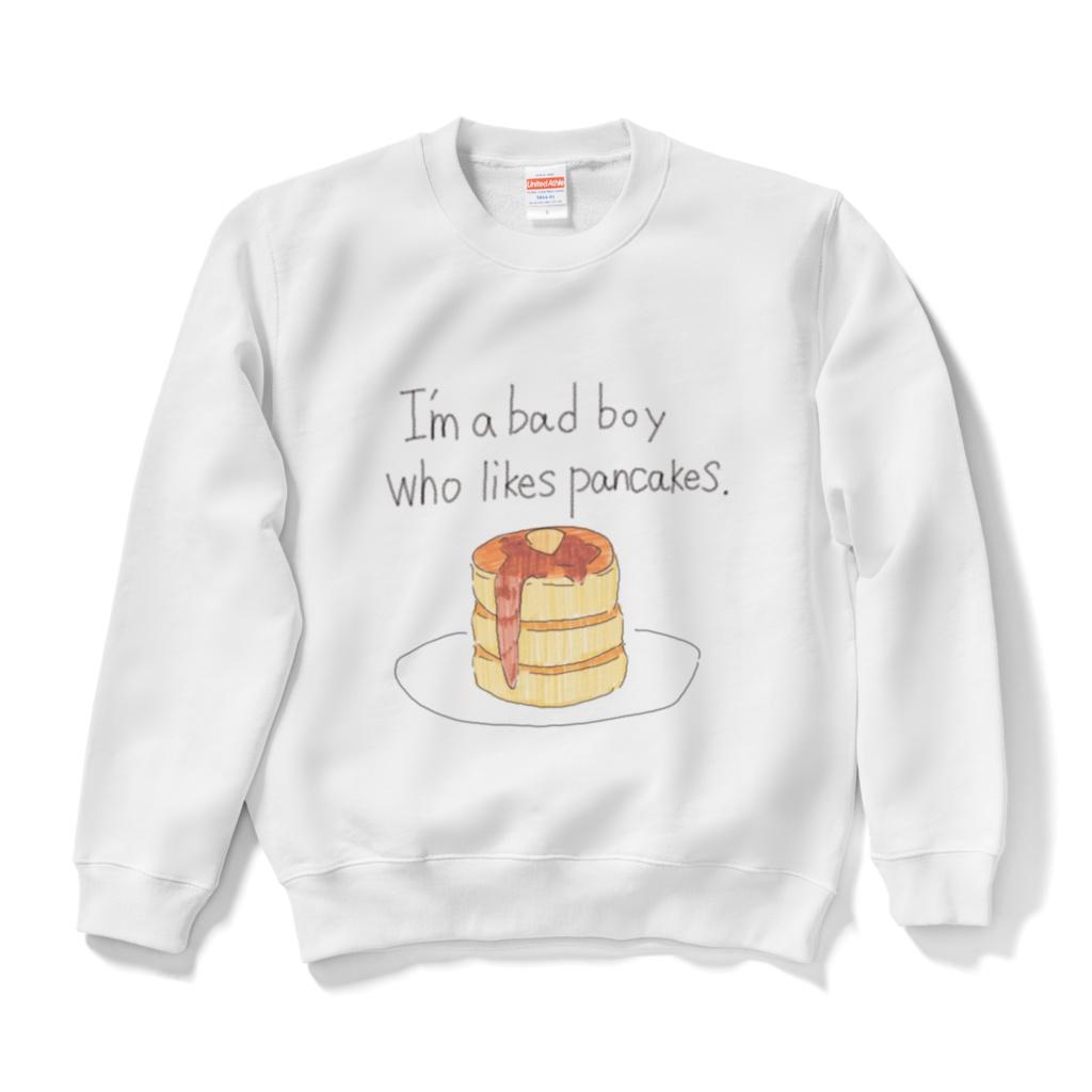 パンケーキが好きな悪い子スウェット