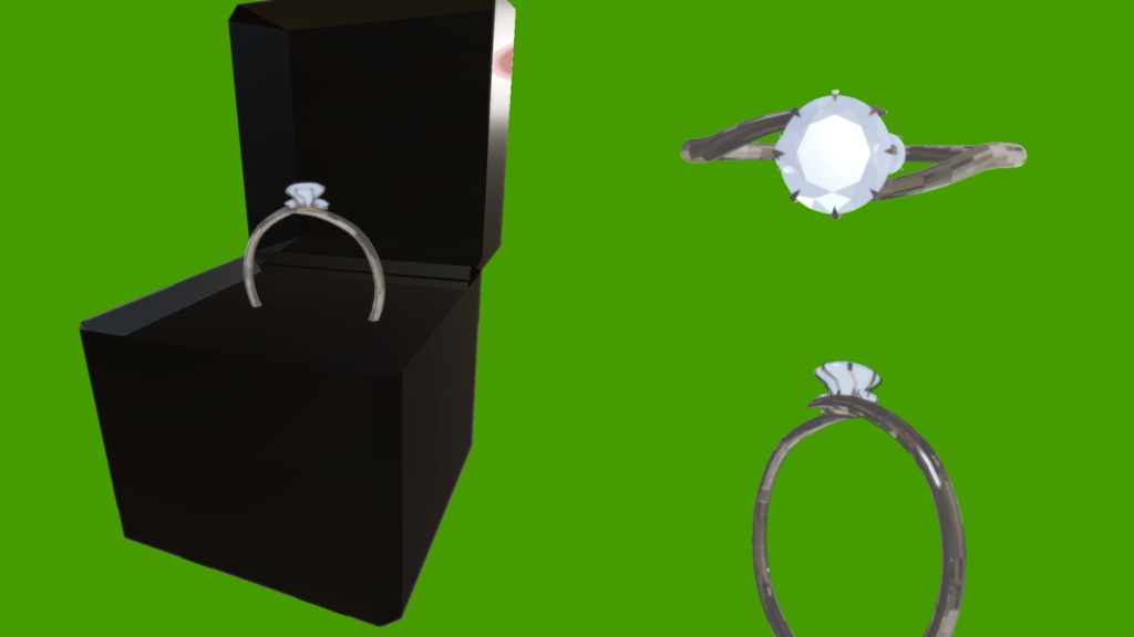 エンゲージリング 婚約指輪 結婚指輪にも
